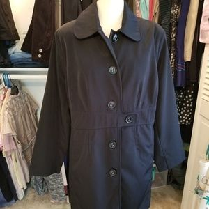 Merona trench coat.